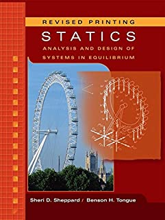 Statics: Analysis And Design of Systems in Equilibrium (0471947210) | Amazon price tracker / tracking, Amazon price history charts, Amazon price watches, Amazon price drop alerts
