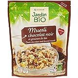 Jardín Bio Muesli Bio al Chocolate y Semillas de Lino - 375 gr