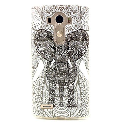 TPU Schutzhülle für LG G4 Hülle-Guizen Slim Fit Soft Silikon Crystal Case Cover mit bunten Design-Muster für LG G4 Schale Handy Tasche Skin-Stil02