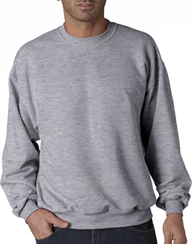 Hockey Symbol auf American Apparel Fine Jersey Shirt Gris - Athletic chiné