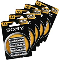 IRPot - 48 BATTERIE SONY STILO PACK 1.5 AA SUM3 12 CONF.
