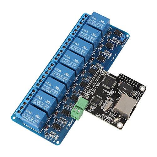 1 Stück Netzwerk Wi-Fi Relaissteuerung Controller Modul Karte LAN WAN Netzwerk WEB Server mit RJ 45...