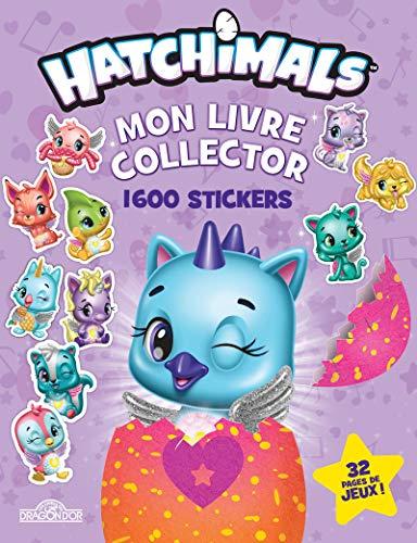 Hatchimals - Mon livre collector 1 600 stickers par CPLG