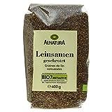 Produkt-Bild: Alnatura Bio Leinsamen, geschrotet, 6er Pack (6 x 400 g)