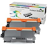 2 X Colour Direct Compatible Toner Cartridge Replacement For Brother TN2220 - DCP7055, DCP7055W, DCP7057, DCP7060D, DCP7065DN, DCP7070DW, HL2130, HL2132, HL2135W, HL2240, HL2240D, HL2250DN, HL2270DW, MFC7360N, MFC7460DN, MFC7460N, MFC7860DW, FAX2840, FAX2845, FAX2940