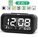 Best Alarm Clocks For Kids - Digital Alarm Clock Bedside Battery Operated for Kids Review