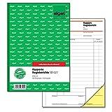 Sigel SD027 Rapport/Regiebericht A5, 2x40 Blatt, selbstdurchschreibend, 1 Stück