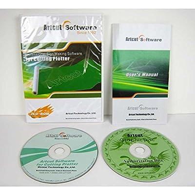 Artcut 2009 Pro Schneidesoftware Vollversion für Plotter Schneideplotter von airbrush-city