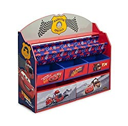 Delta Children Deluxe Book & Toy Organizer, Cars by Delta Children