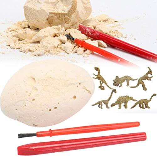 nosaurier Ei Ausgrabung Kit Archäologie Dig Up Geschichte Skeleton Fun Kid Spielzeug Geschenk ()