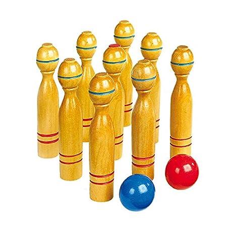 Small Foot Company 1052 Kinderspielzeug Kegelspiel groß, One Colour