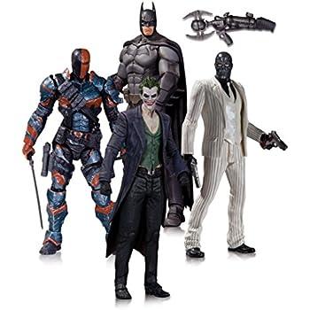 Batman: Arkham Origins Action Figure 4 Pack.: Amazon.fr ...