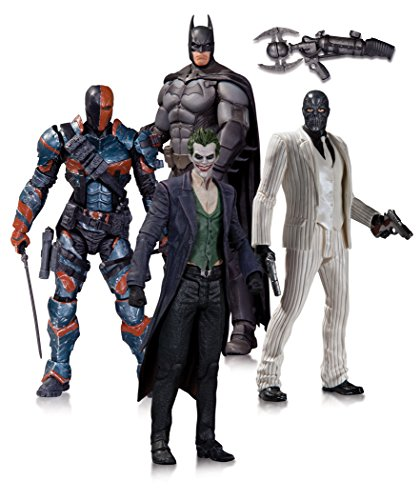 DC Comics Batman Arkham Origins Action Figura 4 Pezzi