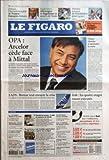 FIGARO (LE) [No 19251] du 26/06/2006 - ZIDANE, L'INCONTOURNABLE DE FRANCE-ESPAGNE DEMAIN ANGLETERRE, ALLEMAGNE ET ARGENTINE EN QUARTS DE FINALE DERNIER TOURNOI DE WIMBLEDON POUR AGASSI OPA - ARCELOR CEDE FACE A MITTAL CHIRAC CHERCHE A REPRENDRE LA MAIN EADS - BRETON VEUT ENRAYER LA CRISE IRAK - LES QUATRE OTAGES RUSSES EXECUTES L'ESSENTIEL - LA SALE GUERRE REPREND AU SRI LANKA - REFERENDUM - NOUVEAU DUEL PRODI-BERLUSCONI - CORRUPTION PRESUMEE A LA MAIRIE DE NICE - PANDEMI