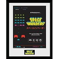 GB Eye LTD, Space Invaders, Anuncio, Print enmarcado 40 x 30 cm