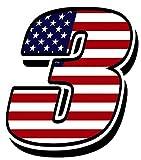 Startnummer Nummer Zahl Auto Moto Vinyl Aufkleber Sticker Motorrad Motocross Motorsport Racing Tuning Flagge Fahne Vereinigte Staaten Von Amerika USA United States of America (3), N104