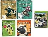 Shaun das Schaf - Blu-Ray Set - Staffel 2+3+4+5 + Kinofilm - Deutsche Originalware [6 Blu-rays]
