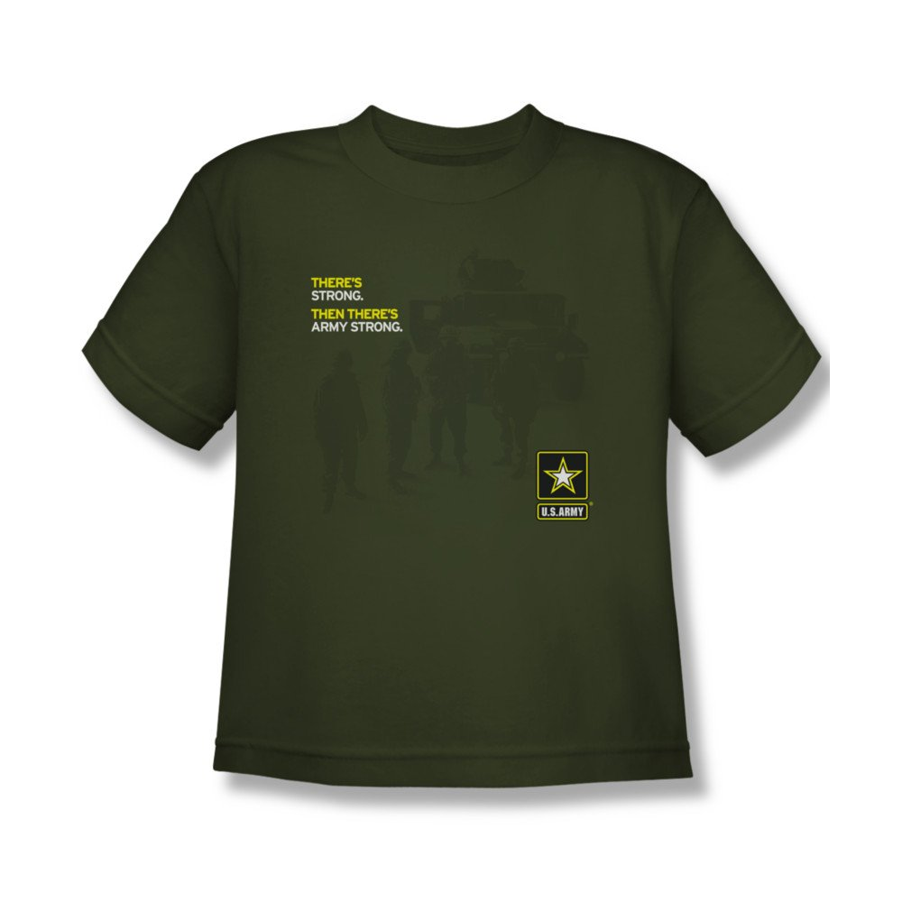 Youth(8-12yrs) ARMY Short Sleeve STRONG Large T-Shirt Tee