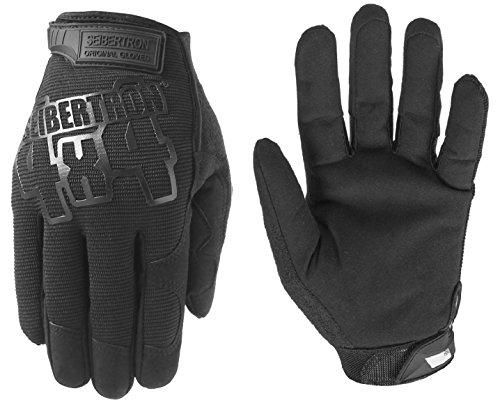Seibertron Utility Gloves Montagehandschuhe Schutzhandschuhe Arbeits Sicherheits Mechaniker Handschuhe für Arbeiten an Autos und Lastwagen Um Finger Stauchverletzungen zu schützen (Schwarz , M) (Sicherheit-handschuh)