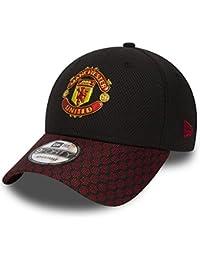 A NEW ERA Gorra 9Forty Pl Manchester United Fa18 Hex Weave Vize Negro Rojo 971c1114769