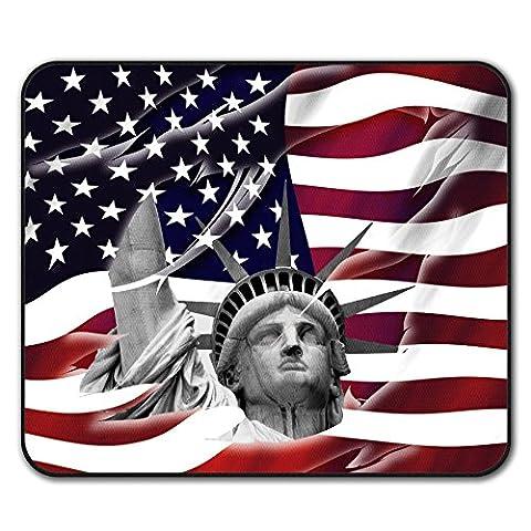 Flagge Jahrgang Land USA amerikanisch Nicht Unterhose Maus Polster 24cm x 20cm   Wellcoda