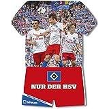 Hamburger SV 2017 - Fussball Kalender, Trikotkalender, Kalender HSV 2017  -  34 x 42 cm