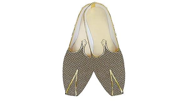 INMONARCH Mens Wedding Shoe/for Groom Almond Wedding Shoes Groomsman MJ014217