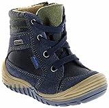 Richter Kinder Lauflerner-Stiefel Velour Warm blau Sympatex Jungen Schuhe 1021-441-7201 Atlantic Marvis S, Farbe:blau, Größe:26