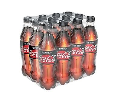 Coca-Cola zero Ew Pet, 12er Pack, Einweg (12 x 500 ml)