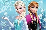 Anna,Elsa Torten Druck Bild auf A4 Fondant Papier