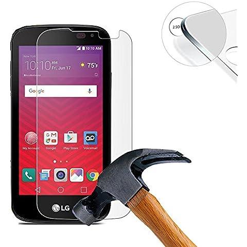 Lusee® Protezione Schermo vetro temperato per LG
