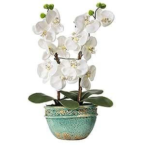 Pianta finta orchidea casa e cucina for Orchidea finta