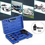 Correas de cadena de 8 piezas para motocicleta, compresor de cadena y remachadora, para tamaño 520, 525, 530, 532