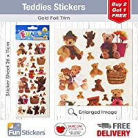Fun Stickers Teddies 414