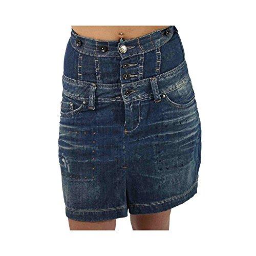 PEPE JEANS Damen Jeans Rock HAYSEED in Blau Größe S