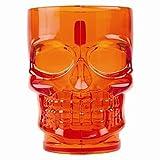 Halloween 2-Jarra, diseño De calavera naranja