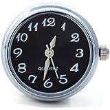 Morella Unisex Click-Button Uhr schwarz