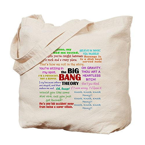 CafePress–Big Bang Theory Quotes–Leinwand Natur–Tasche, Reinigungstuch Einkaufstasche Tote S khaki (Bbq-geek-schürze)