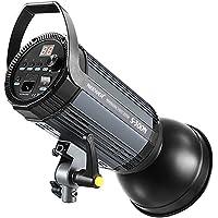Neewer S300N Estudio Profesional Luz de Destello Flash de Claro de Luna-300W 5600K con Lámpara de Modelado, Aleación de Aluminio Speedlite Profesional para Estudio de Interiores Fotografía de Modelo y Fotografía de Retrato