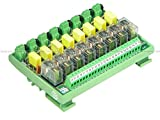 #1: Shavison Relay Module AS425-230VAC-OE, 1C/O, 8 Channel, 230VAC Coil, OEN Relay, Directly Soldered Relay, Isolated Coils, Contact Rating : 28VDC/230VAC, 5A