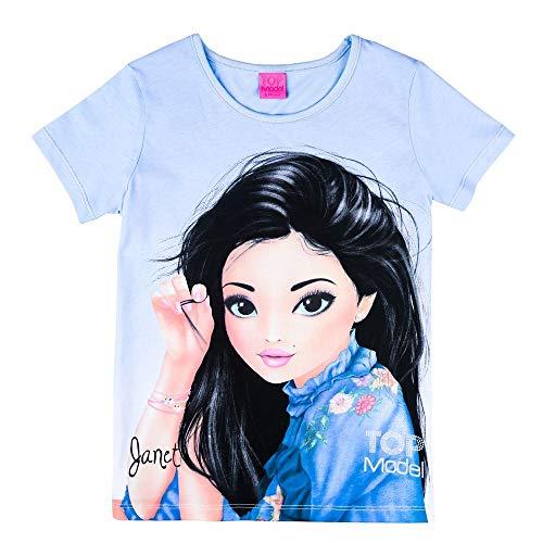 Top Model Mädchen T-Shirt Kurzarm Janet 85046 Blau (164)