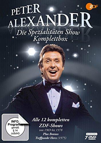 Die Peter Alexander Spezialitäten Show - Komplettbox (Alle 12 ZDF-Shows plus Treffpunkt Herz) [7 DVDs]