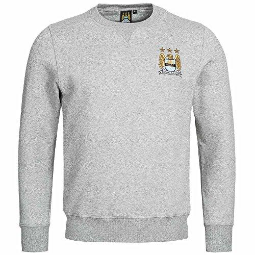 Manchester City FC Crew Sweatshirt grau Majestic (City Trikot Auswärts)