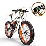 RICH BIT RT-022 bicicleta eléctrica e-Bike 26'' 4.0 Neumático gordo Bicicleta eléctrica...