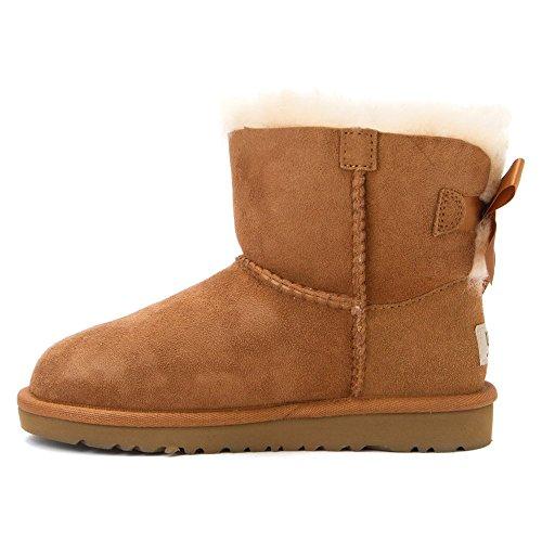 Ugg Australia Mini Bailey Bow, Unisexe À Col Haut Chaussures-enfants Beige