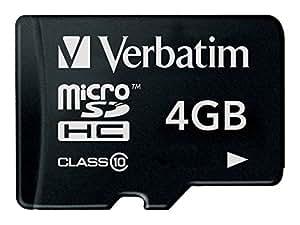 Verbatim 44080 Carte mémoire microSDHC