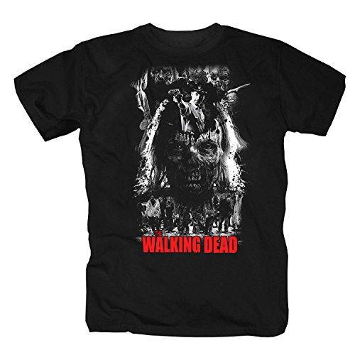 T-Shirt The Walking Dead (L) (Dead Devil Halloween)