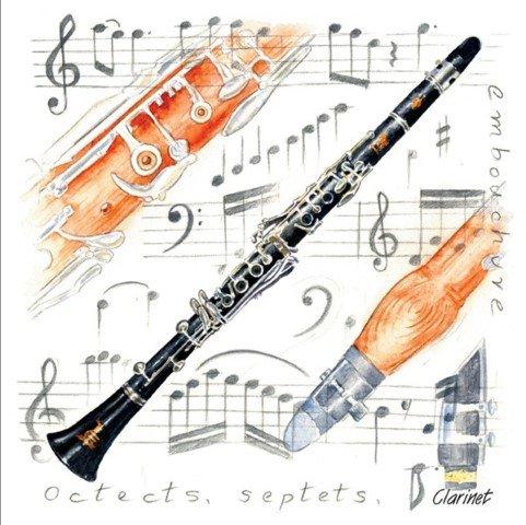 MAGNET KLARINETTE - arrangiert für Musiker: Zubehör-Artikel / Geschenkartikel [Noten / Sheetmusic]