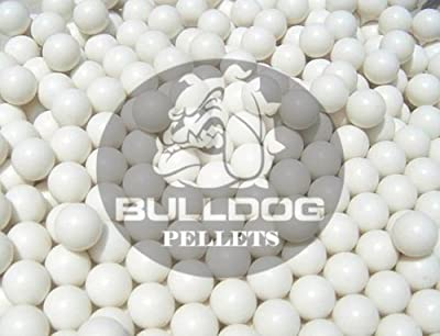 Bulldog BB - Lote de balines de airsoft (2000 unidades, 6 mm, 20 g), color blanco