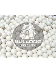 Bulldog Lot de 2000 billes d'airsoft 0,25 g Blanc